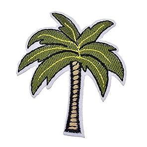 Souarts 椰子の木 アップリケ アイロン接着 パッチ 飾り