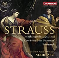 Strauss: Josephslegende - Feuersnot - Militarischer Festmarsch by Royal Scottish National Orchestra (2013-06-25)