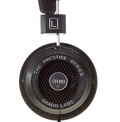 【国内正規品】GRADO SR80e オープン型オーバーヘッドヘッドフォン アメリカ製 新シリーズ 000868