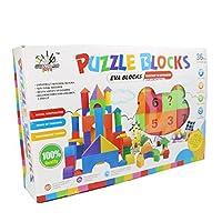 EVAフォームBuildingパズルブロックおもちゃセット–43個