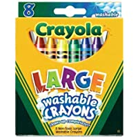 Crayola Crayons Kids First Large Washable 8 in a Box (Pack of 8) 64 Crayons Total [並行輸入品]