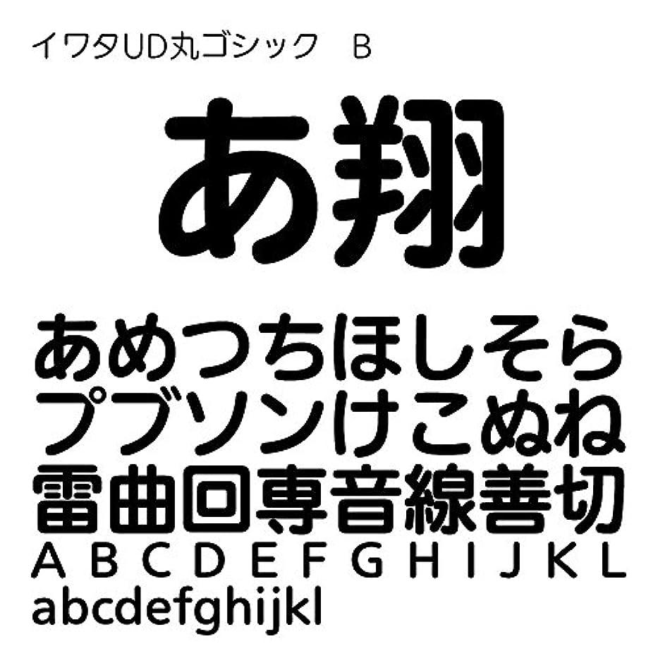 取得する速い無視イワタUD丸ゴシックB Pro OpenType Font for Windows [ダウンロード]