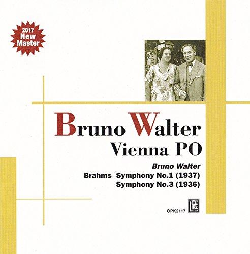 ブラームス : 交響曲 第1番 & 第3番 (Brahms : Symphony No.1 (1937) | Symphony No.3 (1936) / Bruno Walter | Vienna PO)