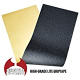【DEVILITE】デビライト 9x33インチ ブラック(黒) デッキ テープ ( スケートボード / スケボー グリップテープ ) SKATEBOARD GRIPTAPE