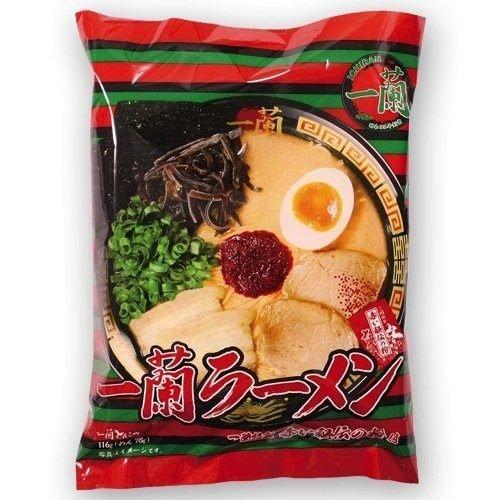一蘭ラーメン40食(5食パックx8セット)ショップ専用外箱入り