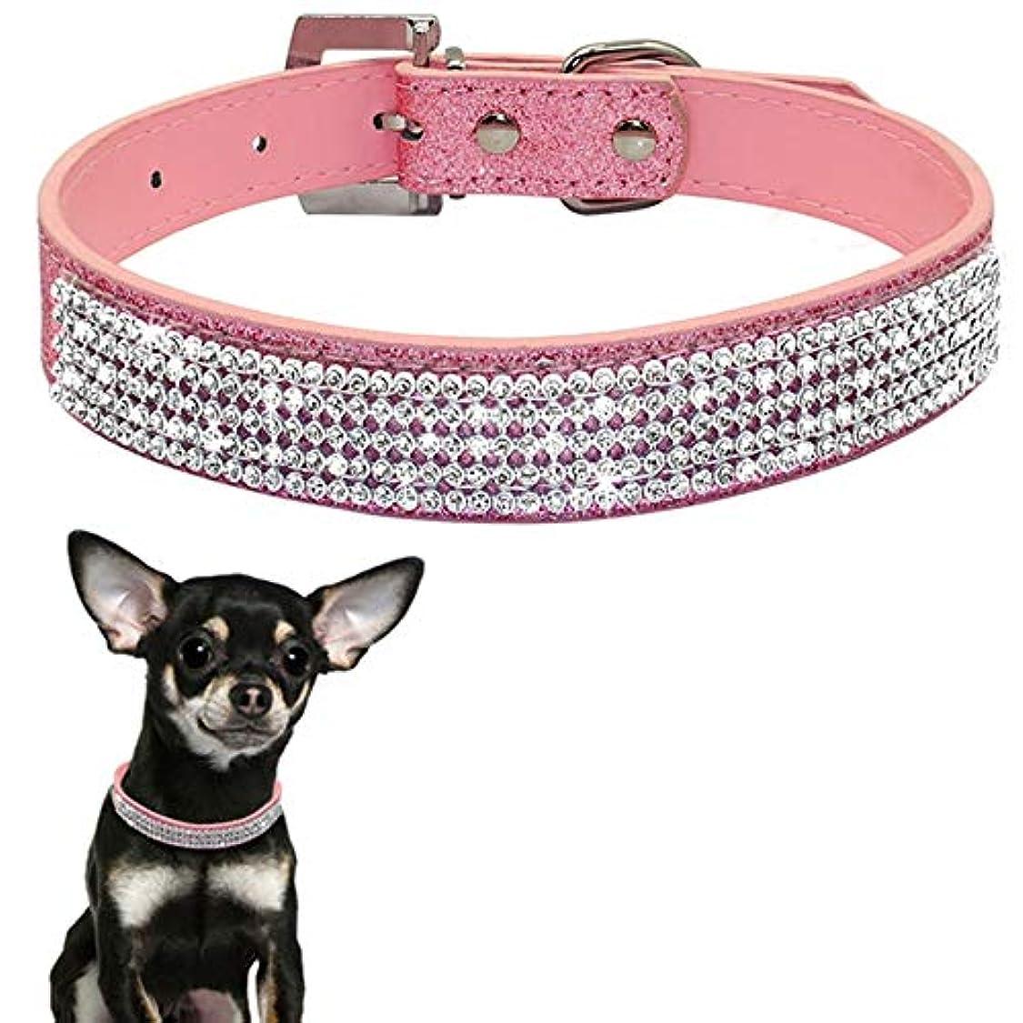 マーティンルーサーキングジュニアしわ嘆願XUTXCKA 犬のためのM/L犬の首輪ペットPUレザー子犬ペット首輪とリーシュ