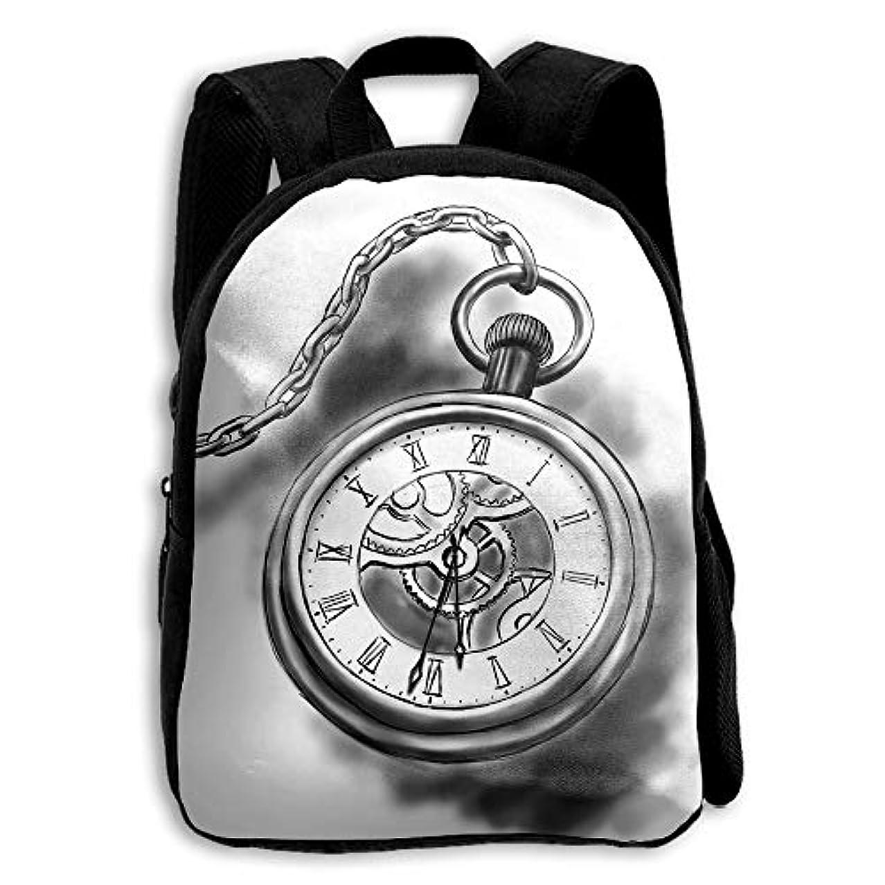エスニックこどもの宮殿考古学的なキッズ バックパック 子供用 リュックサック 時計 ショルダー デイパック アウトドア 男の子 女の子 通学 旅行 遠足