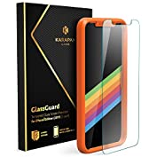 Anker KARAPAX GlassGuard iPhone X用 強化ガラス液晶保護フィルム【3...