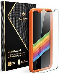 Anker KARAPAX GlassGuard iPhone X用 強化ガラス液晶保護フィルム【3D Touch対応   硬度9H   飛散防止】