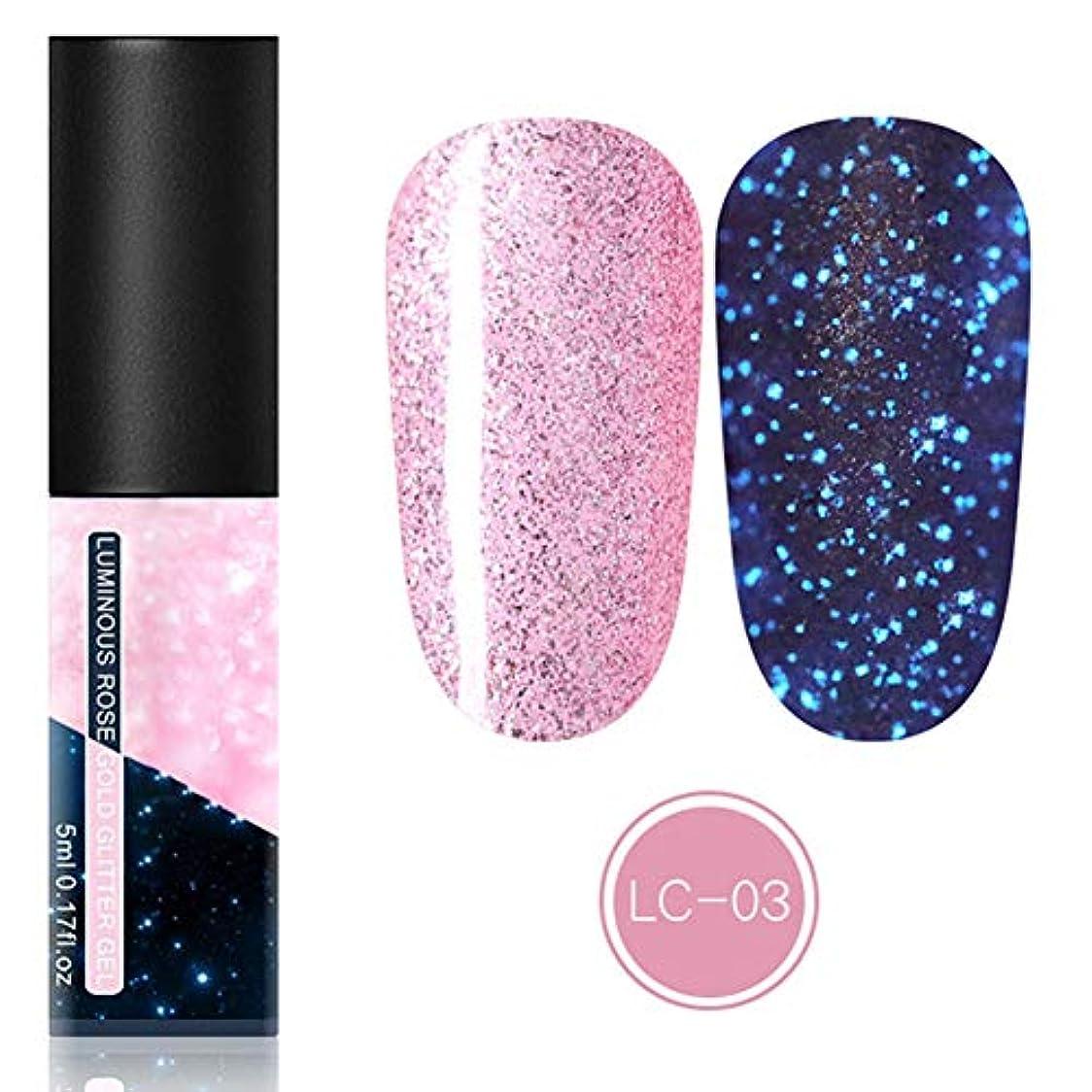速記手首ゴムfeelingood Gel Nail Polish,Fluorescent Gel Nail Polish Glow in Dark Nail Enamel Varnish Gel Manicure Supply