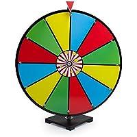 スピナー賞ホイール、24-in Colored 12-slotクラシック乾燥消去賞Spinning Wheel