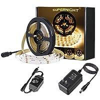 SUPERNIGHT (TM) 16.4Ft 5M SMD 5050レッドLED防水柔軟なフラッシュストリップ300LEDs LEDライトストリップ60led / M多機能
