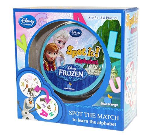 Spot It! Alphabet- Frozen- Box