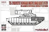 モデルコレクト 1/72 TOS-2 MLRS/アルマータ統一戦闘プラットフォーム プラモデル MODUA72127