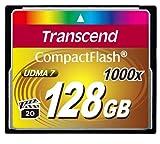 Transcend コンパクトフラッシュカード 128GB ×1000 永久保証 TS128GCF1000