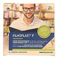 (20cm x 50m) - Filmoplast P Archival Mending Tape-1.9cm W x 50mL