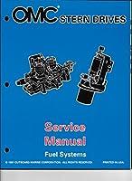 """1998OMCボルボSXコブラ、DP Duo Prop"""" by""""燃料システムサービスマニュアル507201"""
