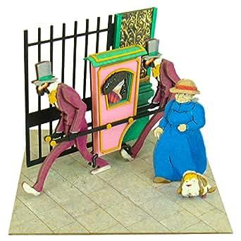 さんけい スタジオジブリmini ハウルの動く城 荒地の魔女の輿 ノンスケール ペーパークラフト MP07-34