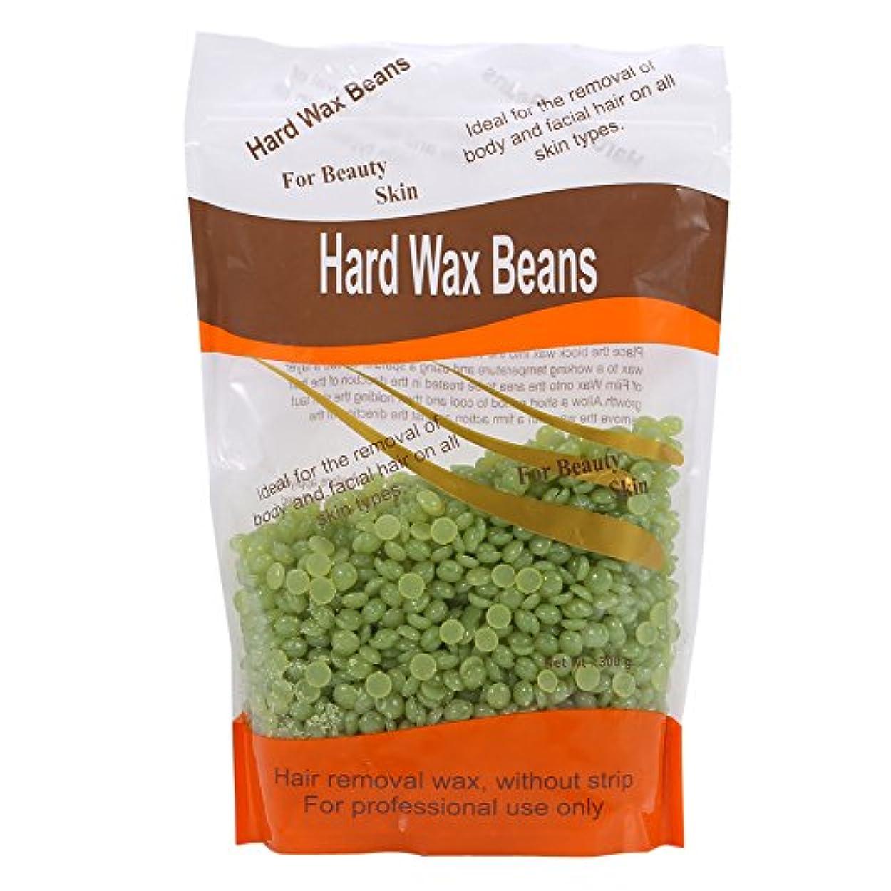 Eboxer 脱毛ワックス 粒状ハード 天然 安全 健康 保湿 七つのにおいを選ぶことができ 体は魅力的な香りを発散させる(ティーツリー)