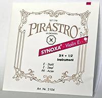 PIRASTRO/ピラストロ SYNOXA/シノクサ バイオリン弦(3/4 + 1/2 兼用) E 3104 スチール・ボールエンド×1本