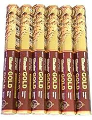 ADARSH AROMATICS(アダーシュアロマティクス) マスターゴールド香 スティック MASTER GOLD 6箱セット