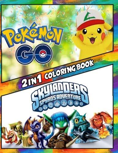 2 in 1 Coloring Book Pokemon G...