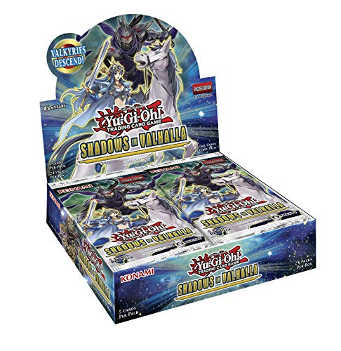 遊戯王 eu版 Shadows in Valhalla 1box