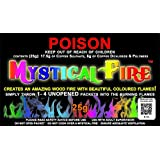 MYSTICAL FIRE 10 pkts - Magical Fire Colourful Color Changing Flames Campfire