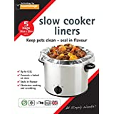 Planit Toastabags Slow Cooker Liners. Pack of 5 Bags.