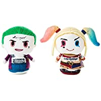 itty bittys Suicide Squad The Joker and Harley Quinn Stuffed Animals, Set of 2 Itty Bittys Movies & TV; Superheroes
