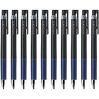パイロットJuice Up 04格納式Gelインクペン, Ultra Fine Point ,ブルー0.4MMブラックインク、値のセット10