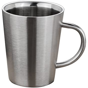 4 Classic Camp Cup Stainless Steel Camping & Hiking Outdoor Sports