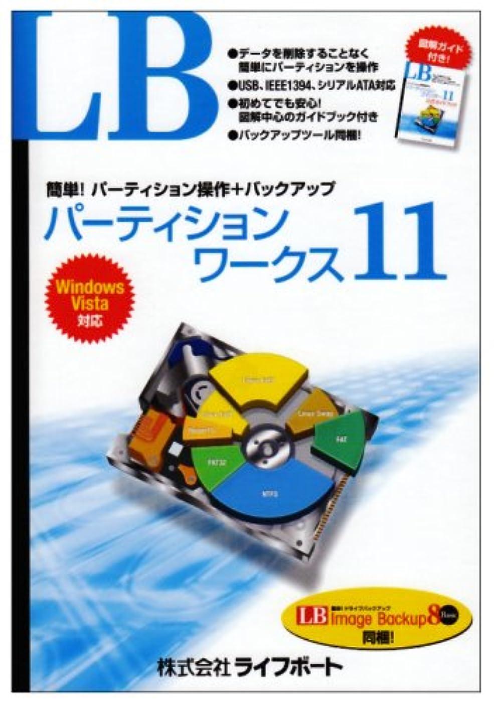 しない酸フィードバックLB パーティションワークス11