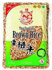 Flying Man Thailand Fragrant Brown Rice, 2.5kg