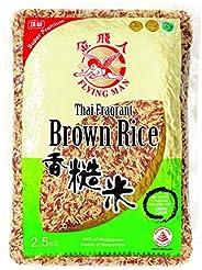Flying Man Thailand Fragrant Brown Rice, 2.5kg