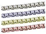 [テソロ]TESORO SV925/AG925 シルバーチェーン ボックスチェーン 完成品ネックレス 45cm 10本 sc-x-08-s-45-10p