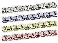 [テソロ]TESORO SV925/AG925 シルバーチェーン ボックスチェーン 完成品ネックレス ロジウム/プラチナコーティング 40cm 1本 sc-x-14-w-40-1p