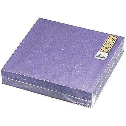 MIN(マイン ) 金箔紙ラミネート 紫 (500枚入) M30-417