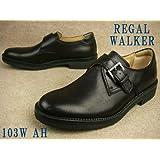 [リーガル] REGAL WALKER 103W AH ウォーカー メンズ フォーマル ビジネス BLACK ウォーキングシューズ