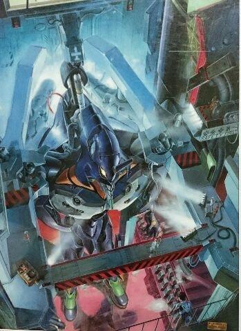 新世紀エヴァンゲリオン ジグソーパズル 750ピース 格納庫 (ケイジ)