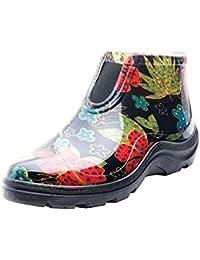 [Sloggers] スローガーズ レインシューズ ショートレインブーツ 長靴 ガーデニング 農作業 園芸 アウトドア フェス Made in USA 散歩 防水作業靴