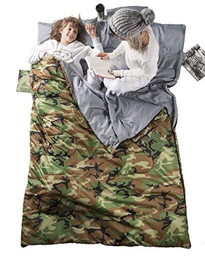 雄弁なブラケットしたいWELLAX Double Sleeping Bag for Camping, Backpacking or Hiking -Perfect Sleeping Sack for Couples- Extra Large 3 Season Waterproof Sleeping Bag for 2 Person Adults [並行輸入品]