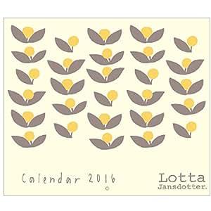 学研ステイフル Lotta Jansdotter 2016年 カレンダー Lotta M14032