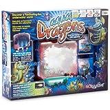 World Alive Aqua Dragons Deluxe Deep Sea Habitat with LED Lights, Live Aquatic Creatures