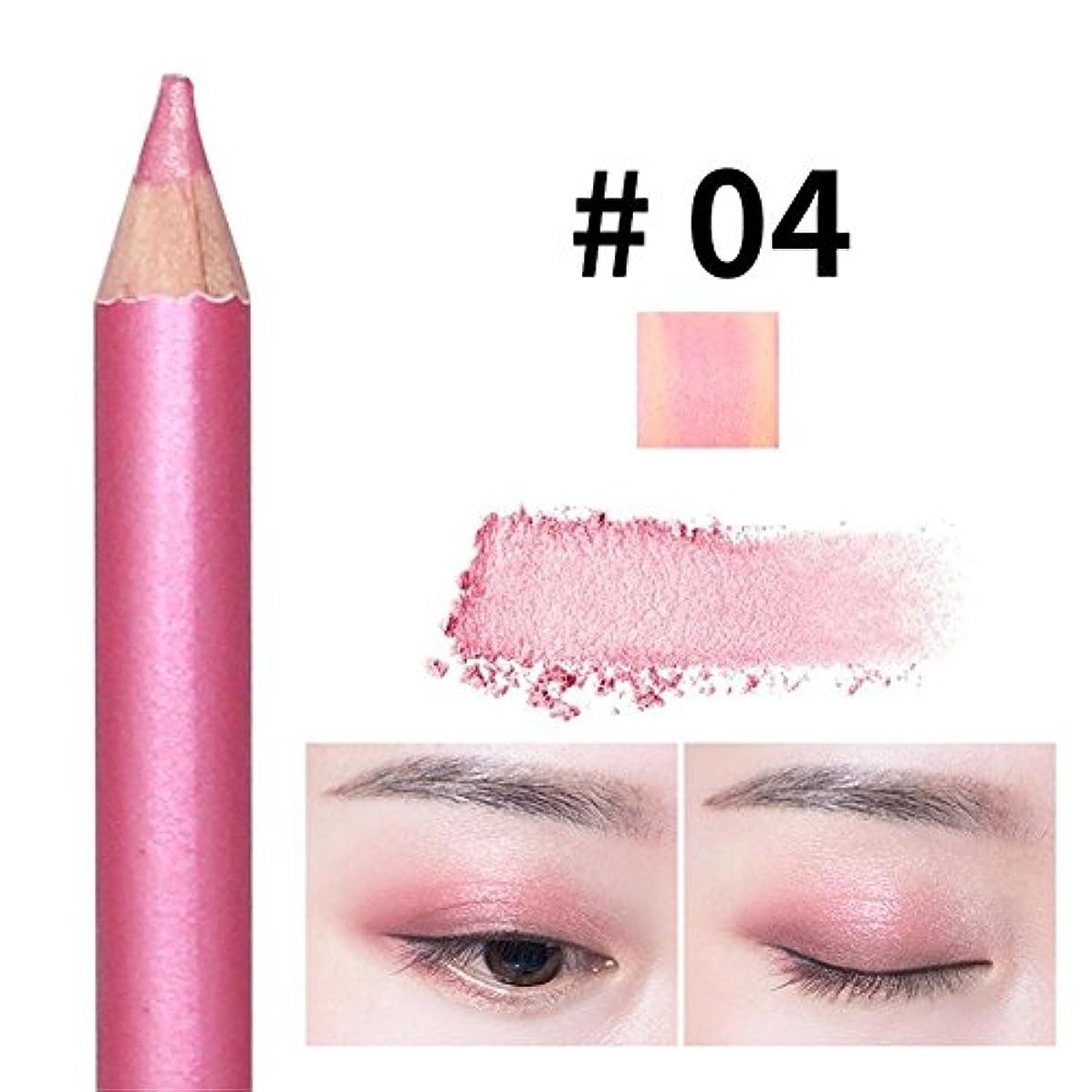 固執表向き包括的アイシャドウペン パールペン ハイライトペン ダブルヘッド 落ちにくい 簡単に色付け 長持ち メイクアップ おしゃれ 防水 ハローメイク メイクアップアイシャドウペン
