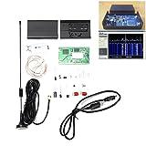 ILS - 100KHz-1.7GHz Full-Band Software Radio HF FM AM RTL-SDR Receiver Radio Frequency Modulation Kit