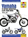 Yamaha YZ WR 4-Stroke Motocross Off-road Bikes, 039 98 to 039 08 (Haynes Service Repair Manual)