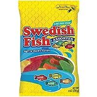Swedish Fish Assorted Fat Free Soft & Chewy Candy 8.0 Oz 8 Oz [並行輸入品]