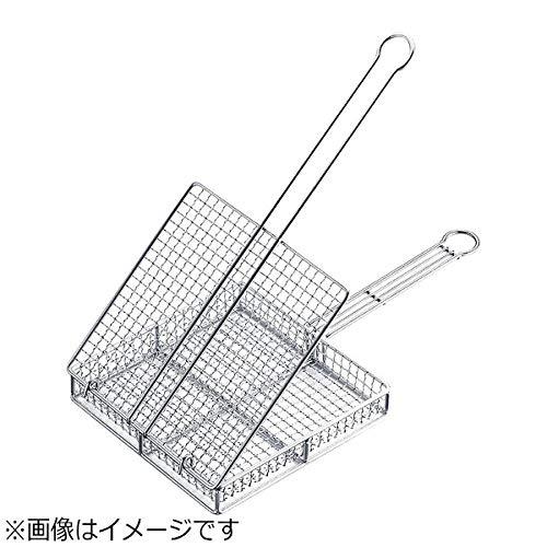 遠藤商事 焼網 業務用 蓋付き 地鶏焼き網 小 18-8ステンレス 日本製 DYK7802