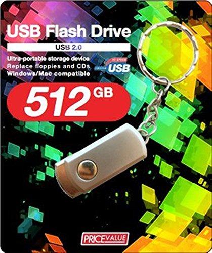 【大容量】512GB キーホルダー型 U...